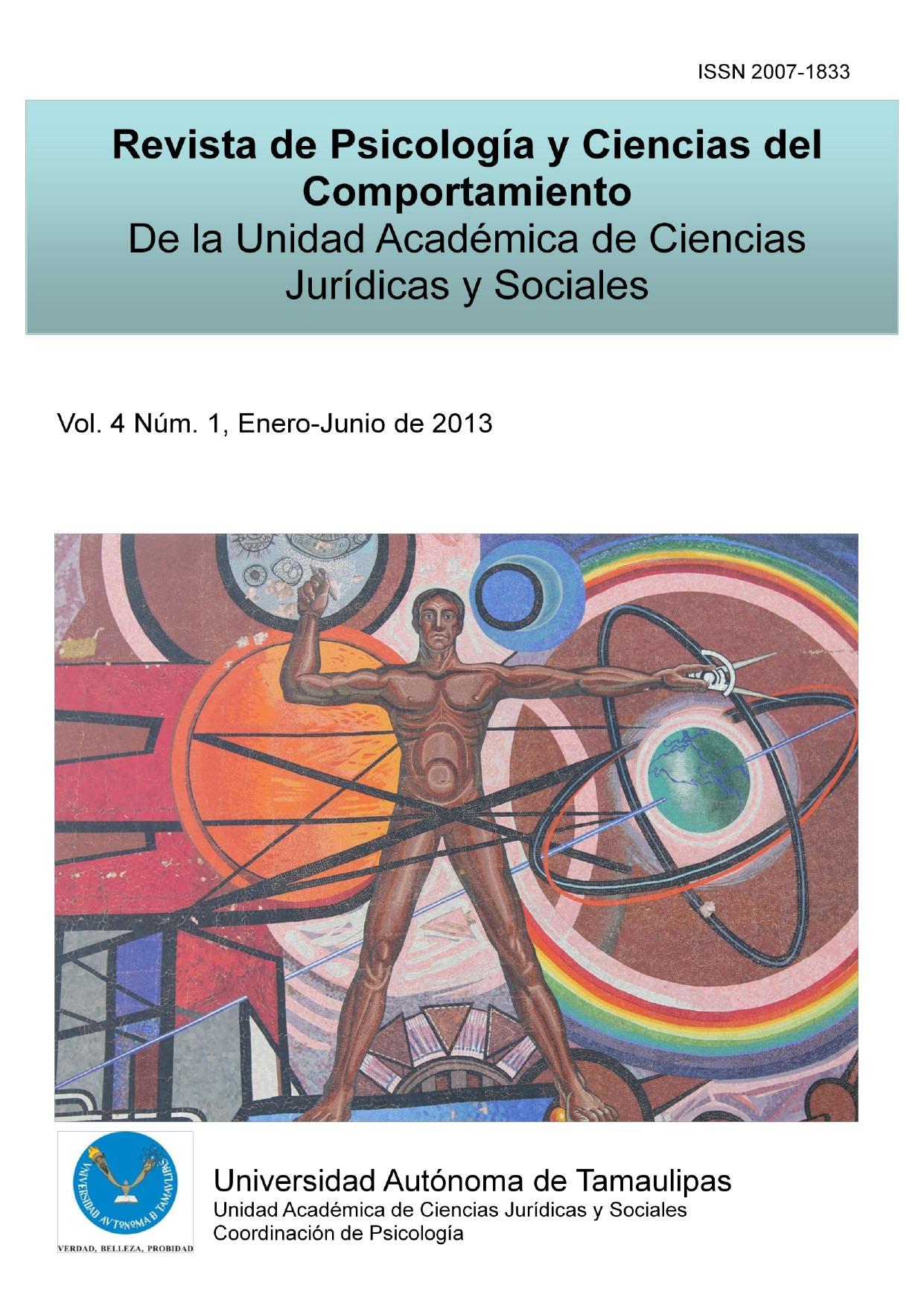 Ver Vol. 4 Núm. 1 (2013): Enero-Junio de 2013
