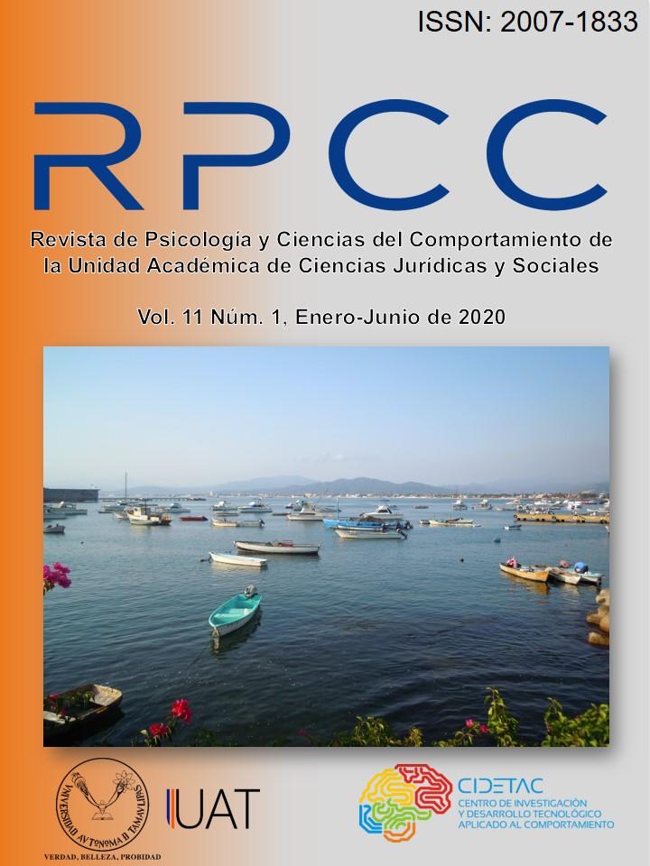 Ver Vol. 11 Núm. 1 (2020): Vol. 11 Núm. 1(2020): Enero-Junio de 2020
